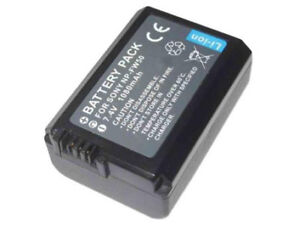 NP-FW50 NP-FV70 battery & charger for Sony NEX7 A55 A6000 A3000