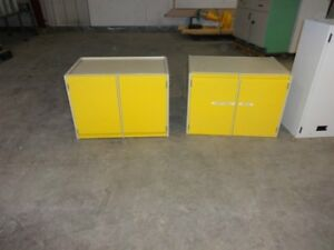 TOOL/PARTS/PAINT/SUPPLIES/DOCUMENT/BINDER METAL STORAGE CABINETS