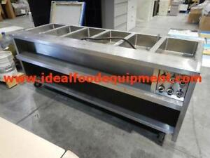 Quest 6 well hot food table - refurbished with warranty
