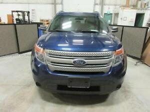 2012 Ford Explorer Base SUV, Crossover - Deep Tilted Windows