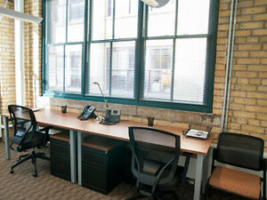 CoWorking Space Downtown in a Shared Office Space