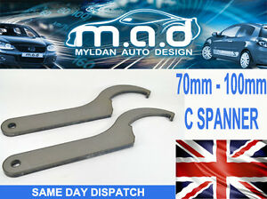 C SPANNER FOR COILOVERS KW K-SPORT BC ZEAL FK AVO TOOL 70-100MM