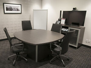 Bus District & Professional Boardroom with everything you need! Edmonton Edmonton Area image 2