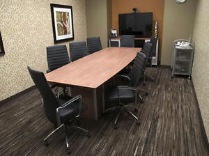 Boardroom, training room, meeting room with all your needs!