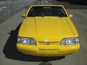 Vintage Convertible Mustang 1993
