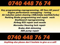 Diagnostic tuning key ecu repair DPF programming mobile car electrician technician best prices remap