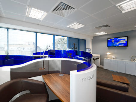 Out and about. Never out of touch at our business lounge from £49 /Month