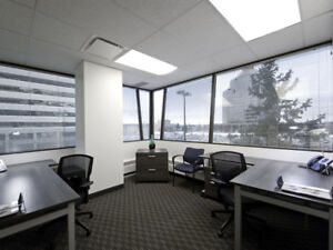 Small shared & private office space coworking for rent commercial