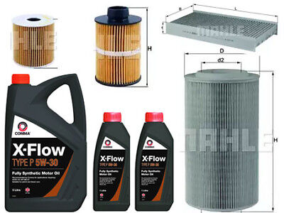 CITROEN RELAY 2.2 SERVICE KIT OIL AIR FUEL CABIN MAHLE OE FILTERS 7 LITRES