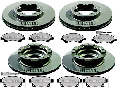 FORD TRANSIT 280 300 2.2 TDCI BRAKE DISCS & PADS FRONT AND REAR 2006 - 2012