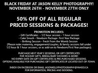 Jason Kelly Photography - 50% OFF BLACK FRIDAY PROMO!