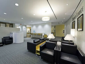 Work Anywhere in Our Business Lounges & Maintain Productivity!