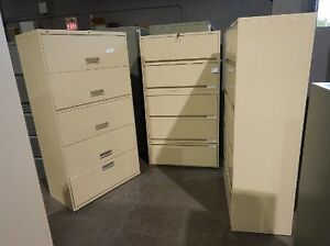 5DRAWERS LATERAL FILING CABINETS