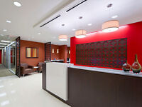 We offer full furnished private offices