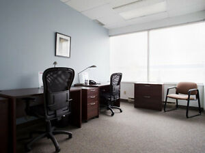 Burlington Offices Inclusive of Phone, Internet, and Furniture!