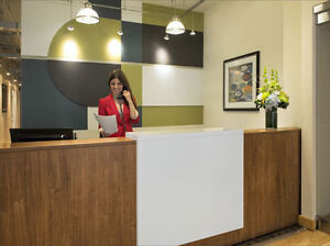 Flexible office space -- more savings, services and choice!