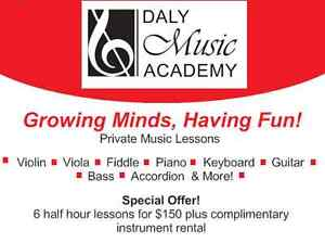 Private Music Lessons - Special Offer! Kitchener / Waterloo Kitchener Area image 1