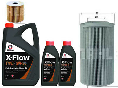 CITROEN RELAY 2.2 SERVICE KIT OIL & AIR MAHLE OE FILTERS 7 LITRES OIL