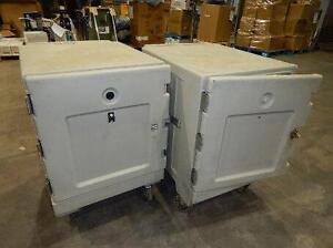 CAMBRO ROLLING HOT FOOD HOLDING CABINETS