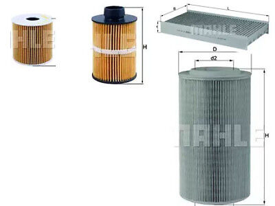 CITROEN RELAY 2.2 SERVICE KIT OIL AIR FUEL CABIN / POLLEN MAHLE OE FILTERS