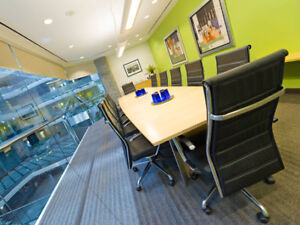 Regus Meeting Room with Lounge, Kitchen, and Reception!