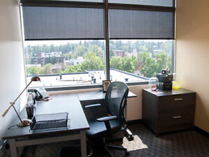 Professional Windowed Offices Available Now!