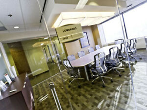 Professional Meeting Rooms, Prestigious Address, from $39/hr.