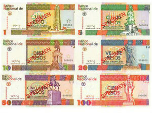 WANTED: CUBA CURRENCY CUCs Convertible Pesos