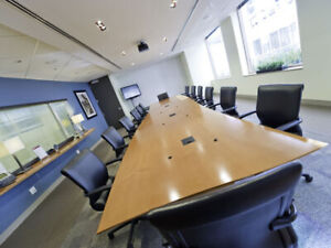 14 Person Meeting Room - $98/hour or $392 for the entire day!