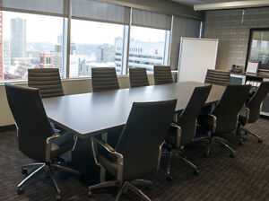 Bus District & Professional Boardroom with everything you need! Edmonton Edmonton Area image 1