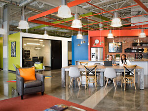 Your new Office Without the Cost! -  Industrial Modern Space