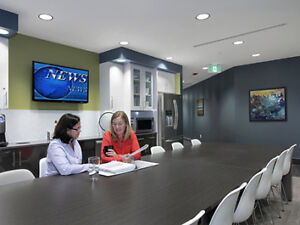 The Future of Office Space! Collaborative & Private Space