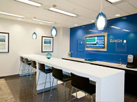 Start Up Companies! Work from home and use the Regus address.