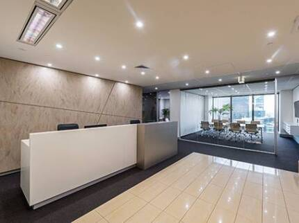 Private two person office space available at Rialto Tower