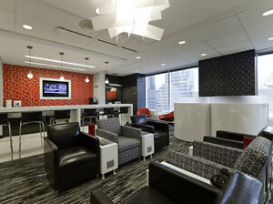 Why meet or work in coffee shops? Regus has another option! Oakville / Halton Region Toronto (GTA) image 12