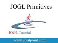JOGL Primitives - javatpoint