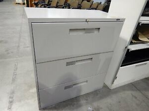 3 DRAWERS LATERAL FILING CABINETS