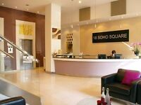 Serviced Office Space To Rent | Options for 8 - 20 people | 3 Months Free | Soho, London – W1D