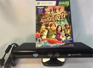 Set of Two XBOX 360 Kinect Motion Gaming Sensor(1473)+(XBOX360)Kinect Adventures