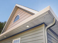 Eavestrough, Soffit, Fascia and Siding