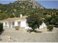 Deceptively large detached villa in Algodonales, southern Spain. 4 bed / 2 bath