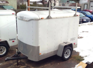 5x8 Enclosed Trailer with racks-Haul Mark