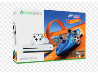 **BRAND NEW** XBOX ONE S 500GB & FORZA HORIZON 3 & HOT WHEELS DLC BUNDLE & ONE YEAR WARRANTY