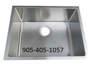 Single Bowl Undermount Stainless Steel Sink - Bar / Prep Sink