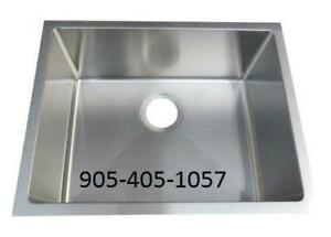 Single Bowl Undermount Stainless Steel Sink - Bar / Prep Sink