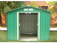Brand new Metal Shed in Box 8 ft x 6 ft 2m x 2.5m