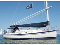 Nonsuch 33 located in the Caribbean
