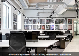 Creative Contemporary Office Space to Rent in CAMDEN (NW1) - Flexible, private and shared!