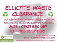 Rubbish ,waste and scrap metal clearance/collection