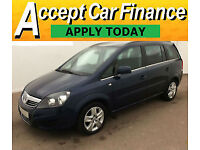 Vauxhall Zafira 1.7CDTi ecoFLEX Exclusiv FINANCE OFFER FROM £36 PER WEEK!